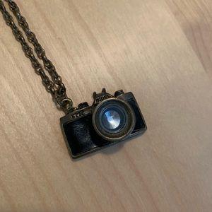 Funky Camera Necklace